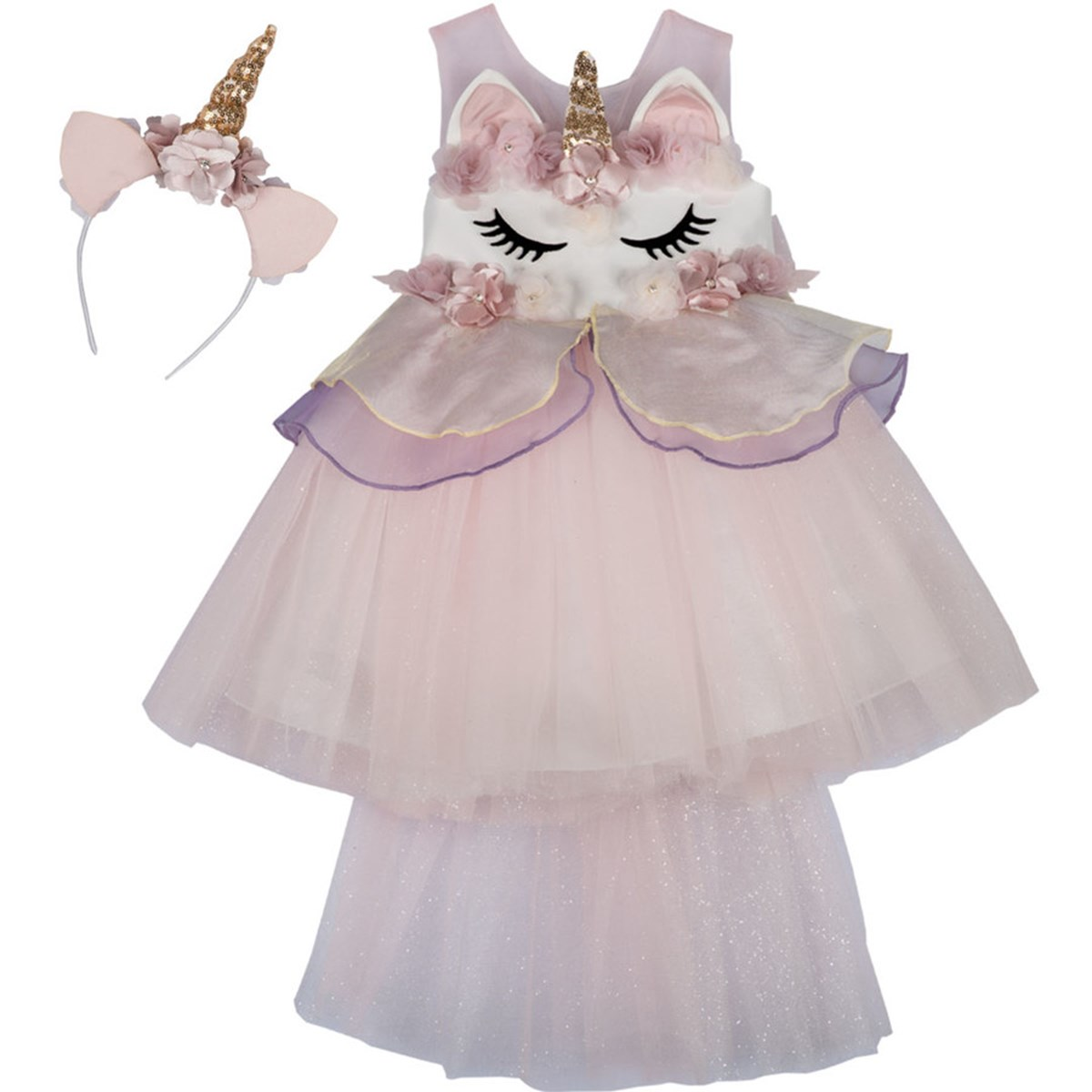 9136 Unicorn Kostüm 1
