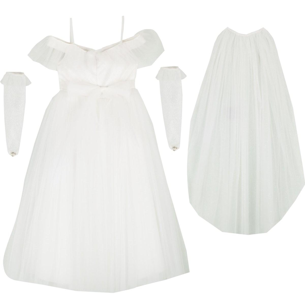 9352 Beyaz Kostüm 3