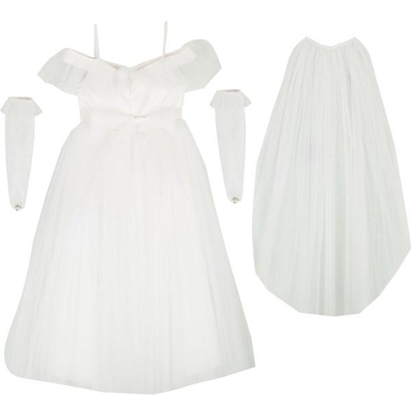9352 Beyaz Kostüm 4