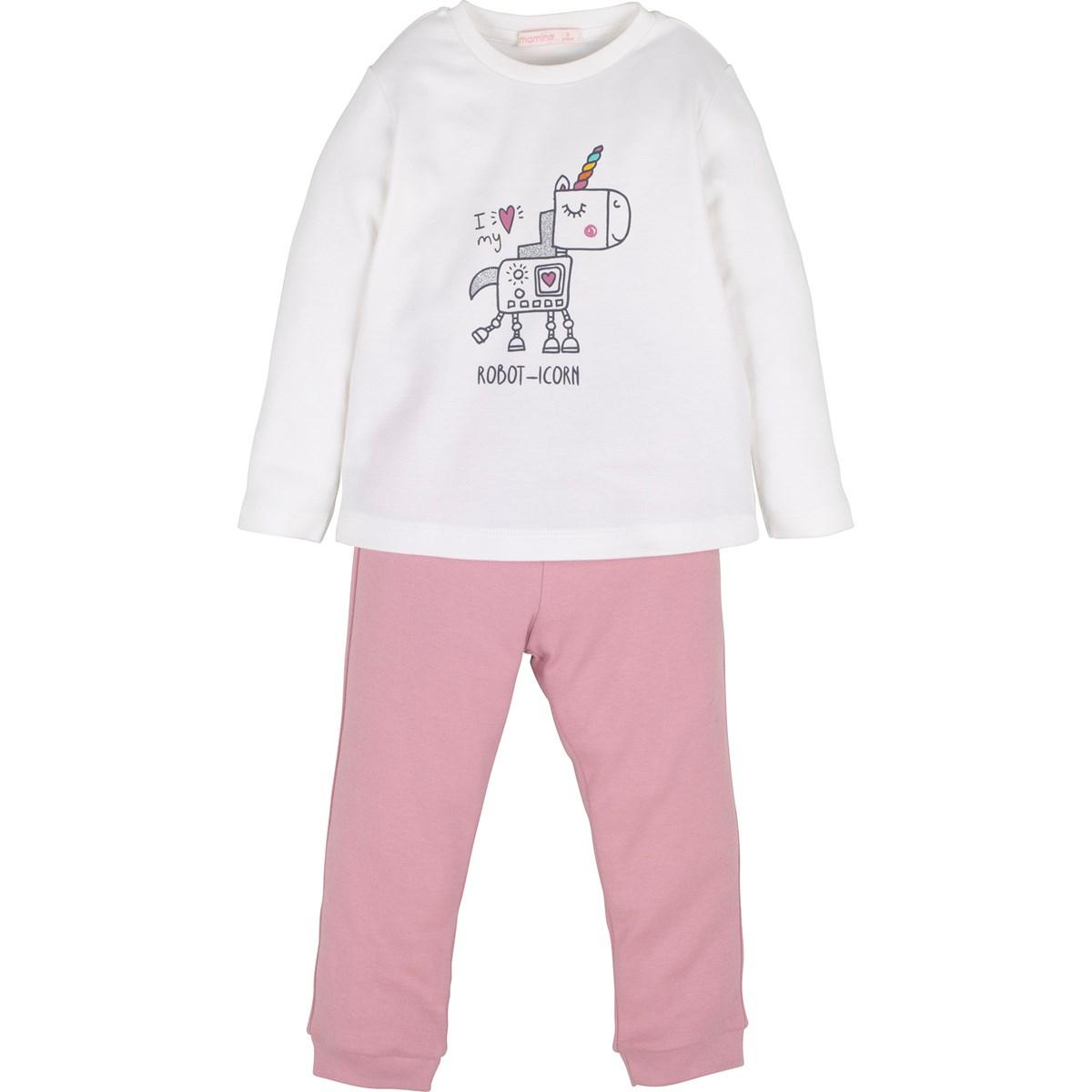 13704 Kiz Pijama Takim 1